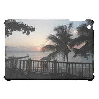 Sunset Doctor's Cave Jamaica iPad Case