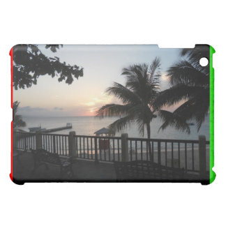 Sunset Doctor's Cave Jamaica iPad Case Rasta