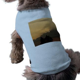 Sunset Pet T Shirt