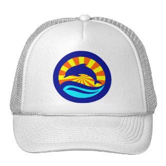Sunset Dolphin Hats