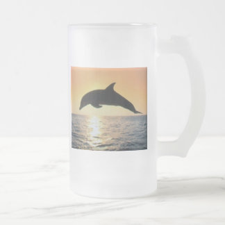 Sunset Dolphin Coffee Mug