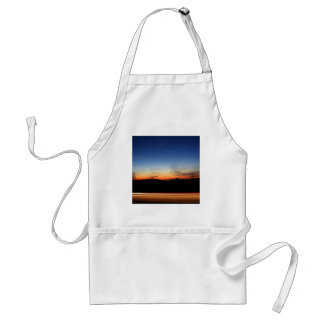 Sunset Dome Of Light Adult Apron