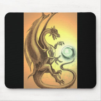 Sunset Dragon Mouse Pad