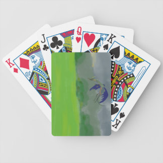 Sunset Dragon playing cards