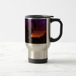 Sunset Dragon Travel Mug