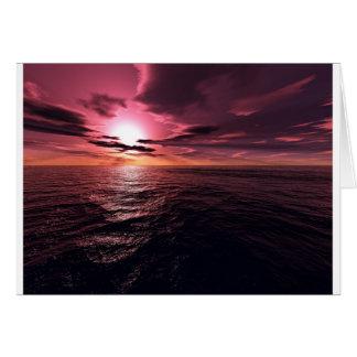 Sunset Dreamer-C Card