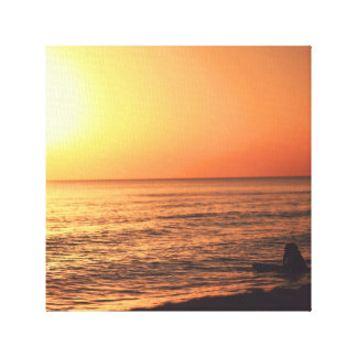 Sunset dreamer canvas print