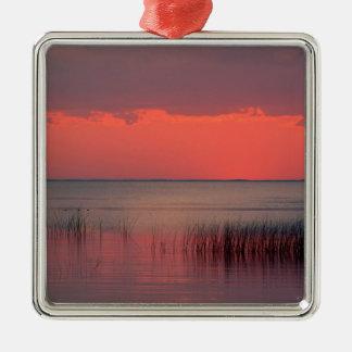 Sunset Dreamscape Florida Metal Ornament