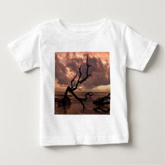 Sunset Driftwood Beach Baby T-Shirt