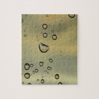Sunset Droplets Jigsaw Puzzles