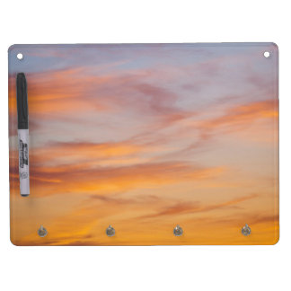 Sunset Dry Erase and Keychain Holder Dry Erase Board With Keychain Holder