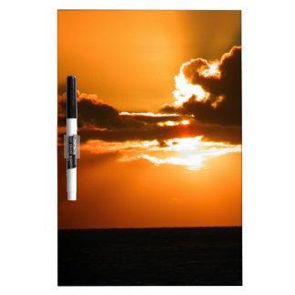 sunset Dry-Erase board
