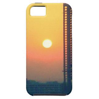 sunset dubai iPhone 5 cases