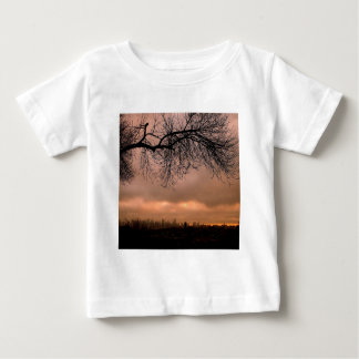 Sunset Dull City Dusk Baby T-Shirt
