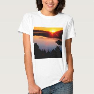 Sunset Emerald Bay Lake Tahoe Tee Shirt