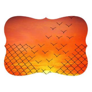 sunset escape card