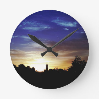 Sunset Europes Fortune Wall Clocks