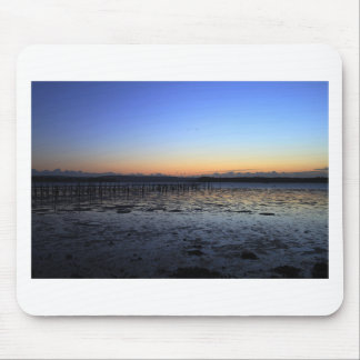 Sunset Evening Hill Mouse Pad