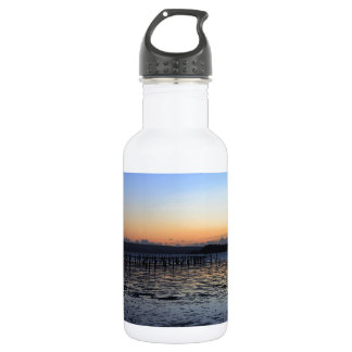 Sunset Evening Hill Stainless Steel Water Bottle