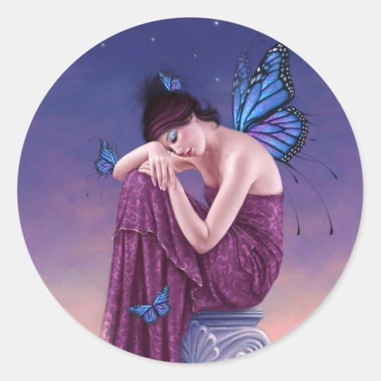 Sunset Fairy Sticker