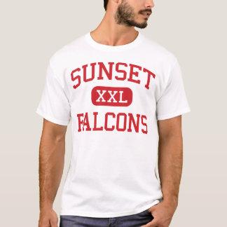 Sunset - Falcons - High - Hayward California T-Shirt