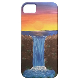 Sunset Falls iPhone SE/5/5s Case
