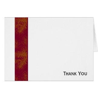 Sunset Ferns Card