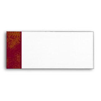 Sunset Ferns Envelope