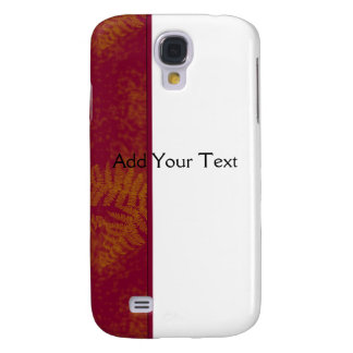 Sunset Ferns Galaxy S4 Cover
