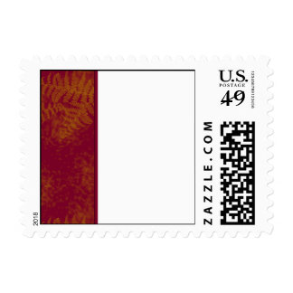 Sunset Ferns Postage Stamps