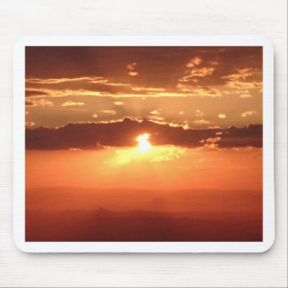 Sunset Fire Mouse Pad