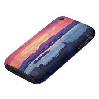 Sunset Florence Italy iPhone 3 Tough Cases