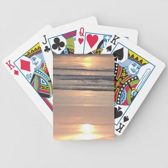Sunset florida beach cards
