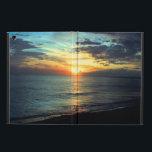 "Sunset Florida Beach iPad Air Cover<br><div class=""desc"">A beautiful sunset from St Pete Beach in Florida</div>"