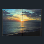 "Sunset Florida Beach iPad Air Cover<br><div class=""desc"">A beautiful sunset from St Pete Beach in Florida</div>"