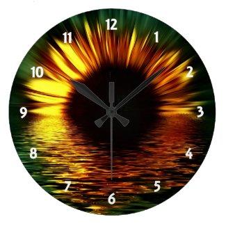 Sunset Flower Clocks
