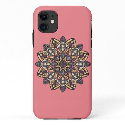 Sunset Flower [Mandala] iPhone 11 Case