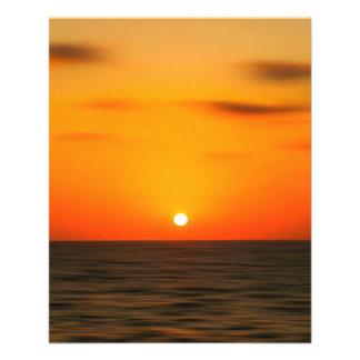 Sunset Flyer