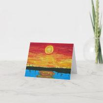 Sunset for Chris - artwork Card