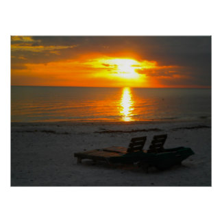 Sunset for Two Poster