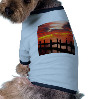 Sunset Fort Myers Prom Florida Doggie Tee