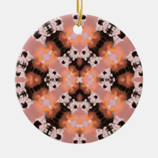 Sunset Fractal Design Ornament