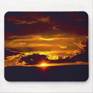Sunset From Carlsbad Caverns Mouse Pad