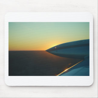 Sunset from Cessna 310 Mouse Pad