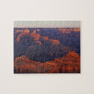 Sunset from Mather Point over Grand Canyon Jigsaw Puzzle