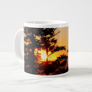 Sunset From Mt. Erie Giant Coffee Mug