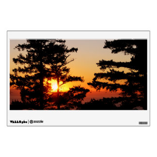 Sunset From Mt. Erie Wall Sticker