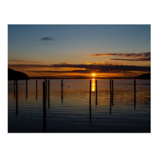 Sunset from Orcas Island, Washington Postcard