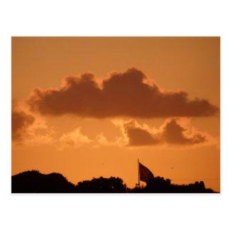 Sunset from Rockport Beach, Texas Postcard