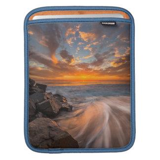 Sunset from Tamarach Beach iPad Sleeve